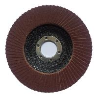 100*16 115*22 125*22 150*22 180*22  MM aluminium oxide flap disc with T27/T29 fiberglass or plastic backing Manufactures