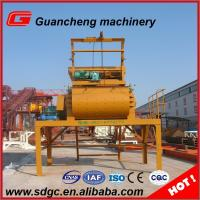 1200 L Feeding Volume Compulsory Concrete Mixer with lifting hopper Manufactures