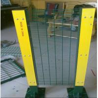 Heavy Duty Welded Wire Mesh Fencing Panels Anti Climb For Military Manufactures