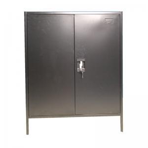 Fast Assemble KD Structure OEM 800mm Steel Bedside Cabinet Manufactures