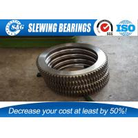 Cheap No Gear Excavator Slewing Ring Bearing With Large Load Bearing Capacity for sale
