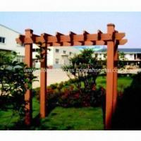 WPC Outdoor Gazebo, 100% recyclable, Easy to Install and Clean Manufactures