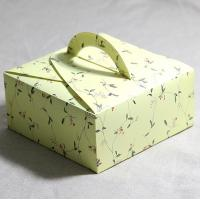 China Food Box Packaging Small Cake Box with Handle on sale
