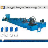 Punchig Storage Rack Roll Forming Machine , Shelf Frame Profile Roll Forming Machine Manufactures