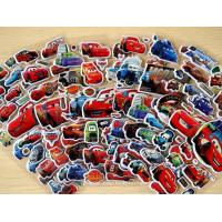 China 3D Car Themes Decorative Custom Puffy Stickers , 3D Cartoon Car Foam Stickers on sale