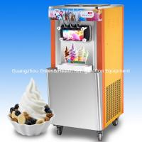 Pre - Cooling Soft Serve Ice Cream Making Machines Auto Counting For Dessert Shop Manufactures