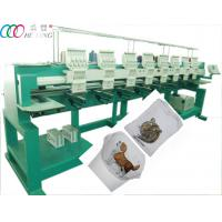 High Speed Tubular Multi-Head Embroidery Machine For Baseball Caps / T-shirt Manufactures