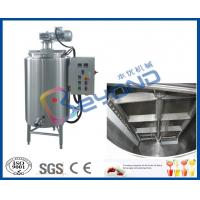 Electrical Control Chocolate Holding Tank , SUS304 Stainless Steel Food Grade Tank Manufactures