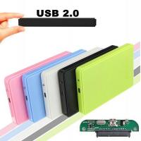 Quality USB 2.0 External Hard Disk Case Slim Portable 2.5 HDD Enclosure SATA Hard Disk Drives HDD Case Plug And Play for sale