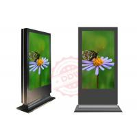 1080P weatherproof stand alone digital signage display / lcd advertising screens Manufactures