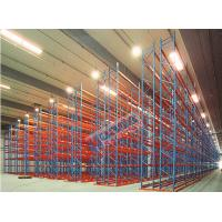 2500 Kg Per Pallet Rack Shelving Q345 Steel Rack Storage With Narrow Aisle Manufactures