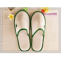 Buy cheap HOT SALE Polyester Velour Wholesale hotel slipper woman slipper from wholesalers