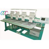 4 Head Multi-function Cap / Tee shirt / Flat Embroidery Machine For Clothing Manufactures