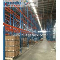 Industrial Selective Pallet Racking System, Double depth, warehouse racks and shelves Manufactures
