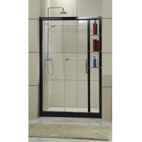 China EN14428 Certification Curved Shower Screen With Shampoo Case Outside on sale