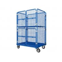 Industrial Durable Roll Container Trolley Heavy Duty Large Load Capacity Manufactures