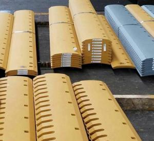 CAT 140 K Grader blades,cutting edges 8J9821,5D9558,4T3007,5D9559, WEAR STEEL 19MM Manufactures