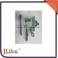 Cheap Customized Galvanized Steel Industrial Pipe Clamps With Plastic Anchor for sale