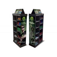 China Car Care Products Cardboard Display Shelves Point Of Purchase Stand on sale