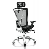 Modern Adjustable Ergonomic PC Chair SGS Certification With Headrest Manufactures