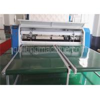 3 Phase Bedding Textile Mattress Cutting Machine Touch Screen Stainless Blades Manufactures