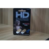 Recycled Blister Pack Packaging For HD Male Sexual Enhancement Capsule Manufactures