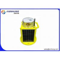 China Remote Control Solar Powered Aviation Lights for Mobile Phone Masts on sale