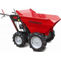 Stepless Speed Change Transmission 4 Wheel Wheelbarrow for Engineering Construction 300kgs Manufactures