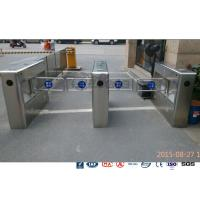 Auto Sensor Supermarket Swing Barrier Gate Door Revolving Entrance Waist High Turnstile