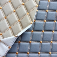 40gsm Nonwoven EN Pvc Artificial Leather For Car Seat / Furniture Manufactures