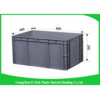 Customized Large Plastic Storage Containers , Warehouse Stackable Plastic Boxes Manufactures