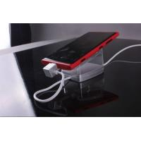 mobile phones display stand with charging alarm function for retail store Manufactures
