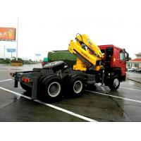 Vehicle mounted 14 Ton Knuckle Boom Truck Crane For Transporting Heavy Things Manufactures