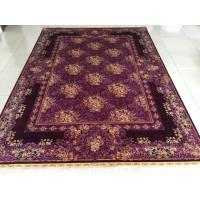Mysterious persian design silk rug handmade carpets and rugs Manufactures
