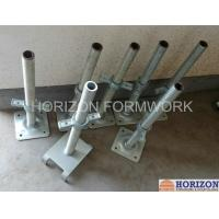 China Q235 Steel Scaffold Screw Jack , Scaffolding Adjustable Base JackPainted Surface on sale