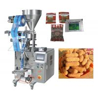 China 50 - 500g Granule Pillow Bag Sealing Sachet Packing Machine For Seeds / Fry Foods on sale