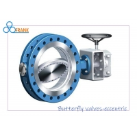 1200mm 150LB Double Eccentric Butterfly Valve Manufactures