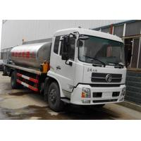Dongfeng 4X2 8 ~ 10 Ton Asphalt Patch Truck With Asphalt Pump ISO 14001 Approved Manufactures