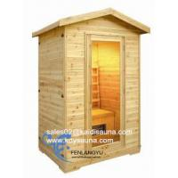 2person outdoor infrared sauna cabin Manufactures
