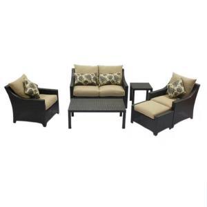 Easy Assemble Wicker Pe Rattan Garden Outdoor Furnitures Manufactures
