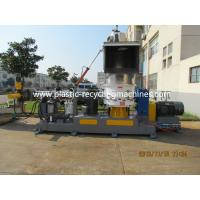 Cheap Belt Conveyor PP PE Film Plastic Granulating Machine With Single Screw Extruder for sale