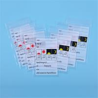 Custom Printed Ziplock Pill Bags , Small Ziplock Pouches For Medicine Storage Manufactures