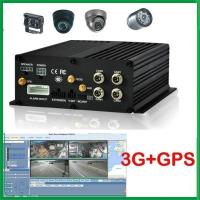 2.5 inch HDD Car Mobile DVR Recorder 4 ch inputs With GPS 3G WIFI For different Vehicles Manufactures
