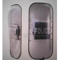 Cheap Military Equipment Round Riot Control Shields for sale