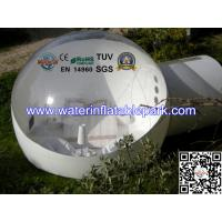 Single Layer PVC Inflatable Bubble Tent , Inflatable Igloo Tent Manufactures