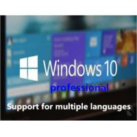 Win 10 FPP Key OEM Key Presale Exclusively , Windows 10 Pro Product Key Code Online Activa Manufactures