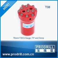 Drilling rock tools T38 76mm rocket drill threaded button bit Manufactures