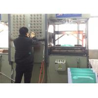 HIPS Plate Thermoplastic Vacuum Forming Machine Double Heating Temperature Manufactures