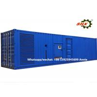 3 Phase 2400KW Industrial Container Diesel Generator Water Cooled Manufactures