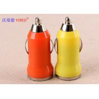 Exquisite Universal USB Car Charger For Iphone / Samsung 5V 1A Output Manufactures